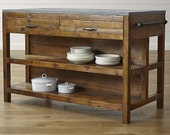 Lookalike Pieces - Kitchen Island, Console Table, Buffet, Farm Table, Prep or Serving, Bar Cart, Indoor & Outdoor Living