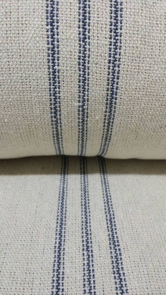 Sale grain sack fabric by the yard farmhouse fabric cream for Cloth for sale by the yard