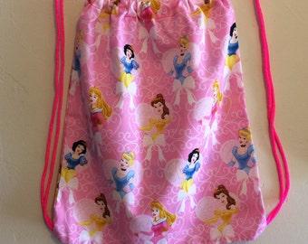 Princess Drawstring Backpack
