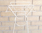Vintage Iron Art Deco Plant Stand Display Midcentury Home Decor MaggieandNicky Free USA Shipping