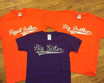 Big Brother/ Big sister shirts