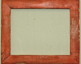 "1-1/2"" Coral Distressed Picture Frame"
