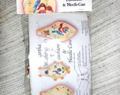 Martha Washington's Needle case and Pin cushion Embroidery Kit