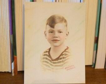 Vintage Photo of Little Boy