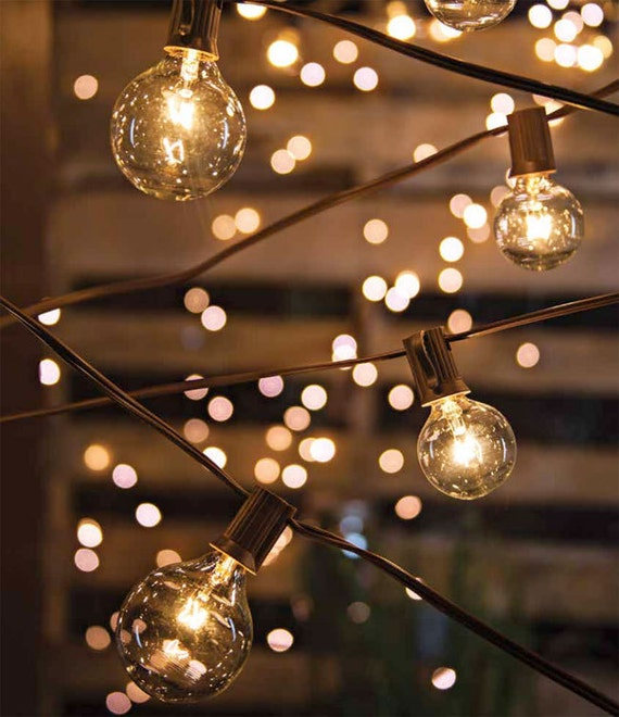 10.8 Feet Globe Lights String Lights Cafe String by SparkleSoiree