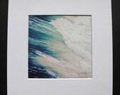 Beach Photography, Ocean Photography, Ocean, Water, Waves, Photography Print, Fine Art Photography, Free Shipping, Matted