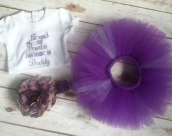 I found my prince baby set tutu set baby shower gift