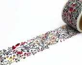 Garland Wide Washi Tape by Aimez le Style - Christmas Leaves Masking Tape