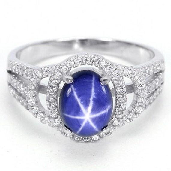 genuine star sapphire ring - photo #26