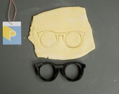 Round glasses cookie cutter, 3D printed