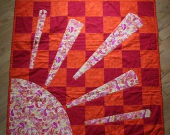 T.E.G. / Baby Quilt / Sunshine / Baby Blanket