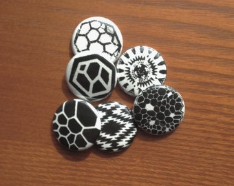 Screen Printed Pins