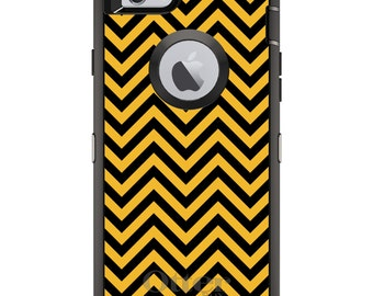 Missouri OtterBox Defender / Apple iPhone OR Samsung Galaxy / Tigers Colors Chevron / Custom Personalized Monogrammed / Any Color / Any Font