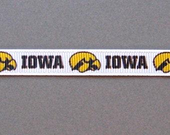 Iowa Hawkeye Fabric Etsy
