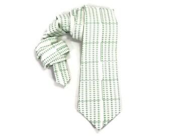 Scantron tie, teacher tie, teacher gift, school tie, school days, paper tie, mens tie, mens necktie, male teacher gift