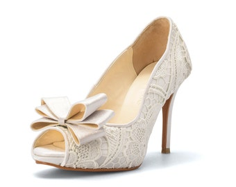 White Jade, Custom Made Wedding Shoes, White Bridal Heels, White Wedding Heels, Bridal Shoes