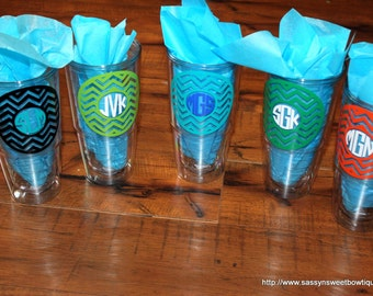 Personalized Double Wall Tumbler with lid