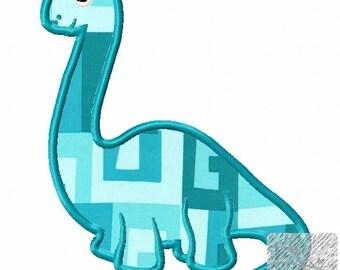 Dinosaur Applique Design Buy2Get1