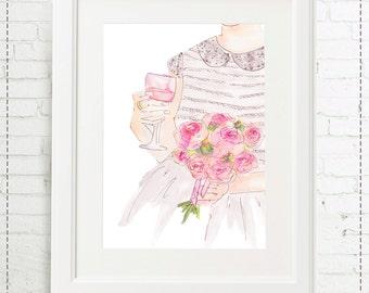 Illustration bride