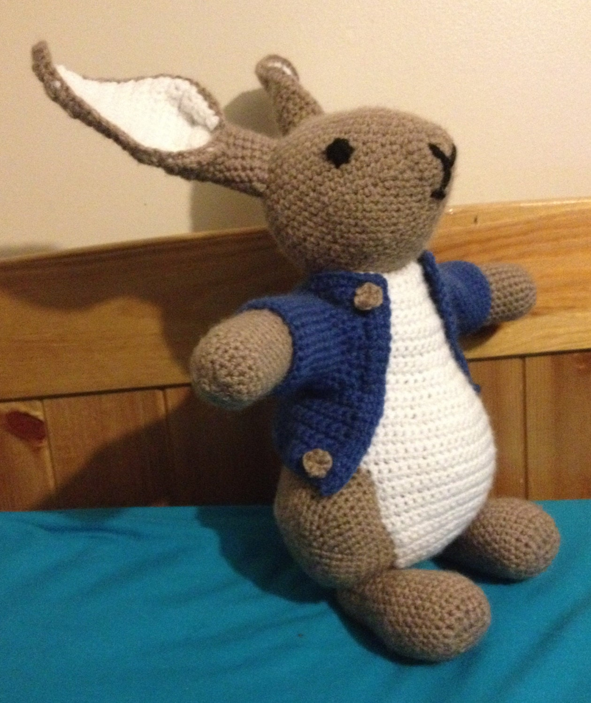 Peter Rabbit Crochet Pattern By Mrnova On Etsy