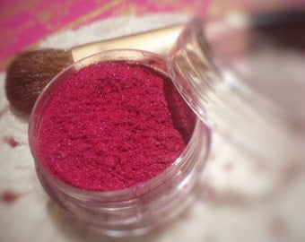 Pink Eye Shadow - Eyeshadow - Eyeshadows - Eye Shadows - Organic Makeup - Pink Eyeshadow - Mineral Makeup - Mineral Eyeshadow - Raspberry