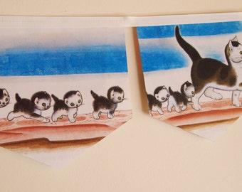 Little Golden Book Bunting - The shy little kitten