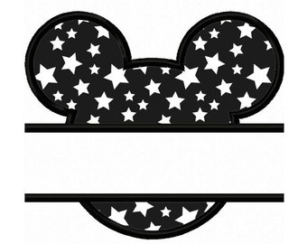Mickey Applique Machine Embroidery Design NO:0342