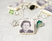 Add a Photo Charm to the Mother's Scrabble Tile Bracelet