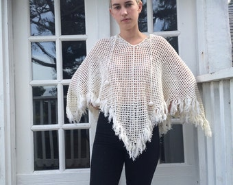 Tommy Hilfiger Netted Poncho