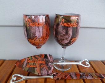 Snap Set Of Camo Mason Jar Beer Mugs And Personalized Wedding