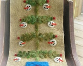 Snowball Tree Wall Hanging