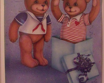 Bear Poster-Frindship is the Best of All 1987