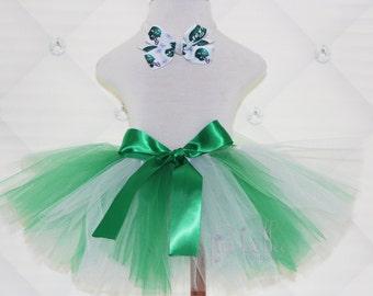 TUTU SKIRT...NY Jets Inspired Tutu Skirt...Newborn Tutu...Baby Tutu...Toddler Tutu...Cakesmash Tutu...Birthday Tutu...Summer Dress