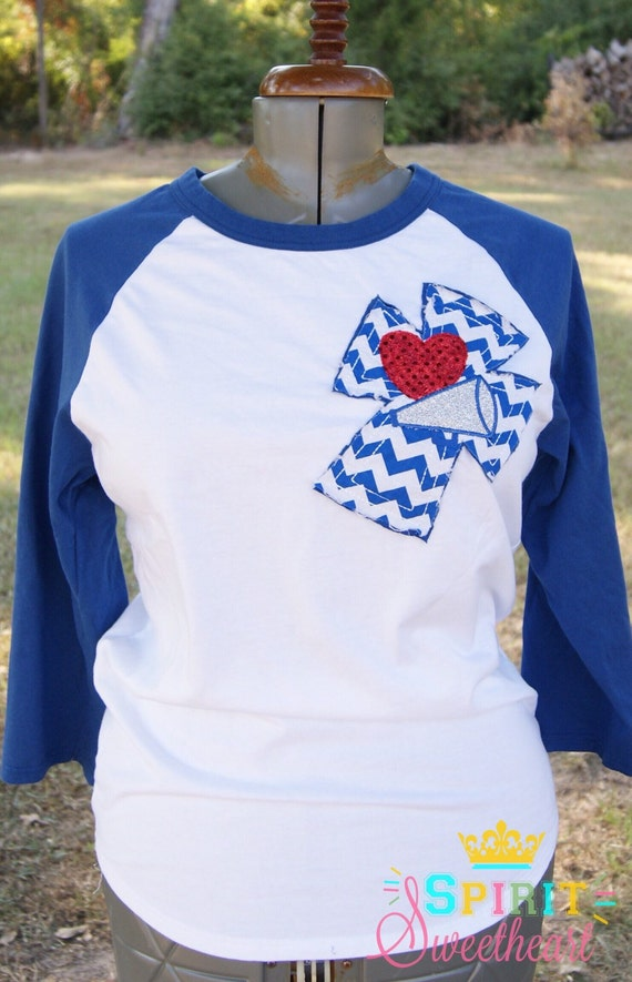love or cheer mom raglan t shirt with raggy chevron cross on etsy