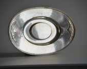 "Vintage Silver plated ""Guild"" WM Rogers & Son Bread Tray - 5312"