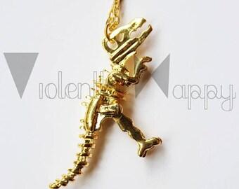 Jumper T - Rex - Dinosaur - Bones silver or gold