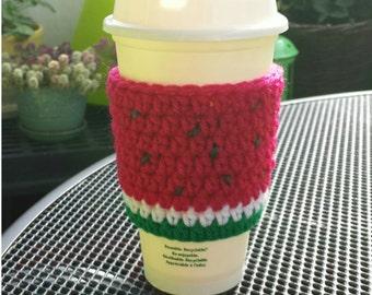 Watermelon Coffee Cozy