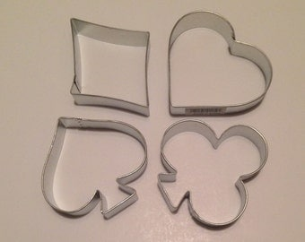 Playing Card Cookie Cutter Set