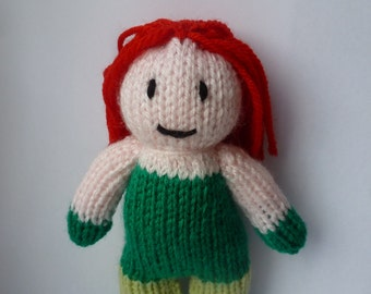 Poison Ivy (Batman) knitted doll