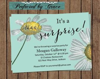 Going away party invitations | Etsy