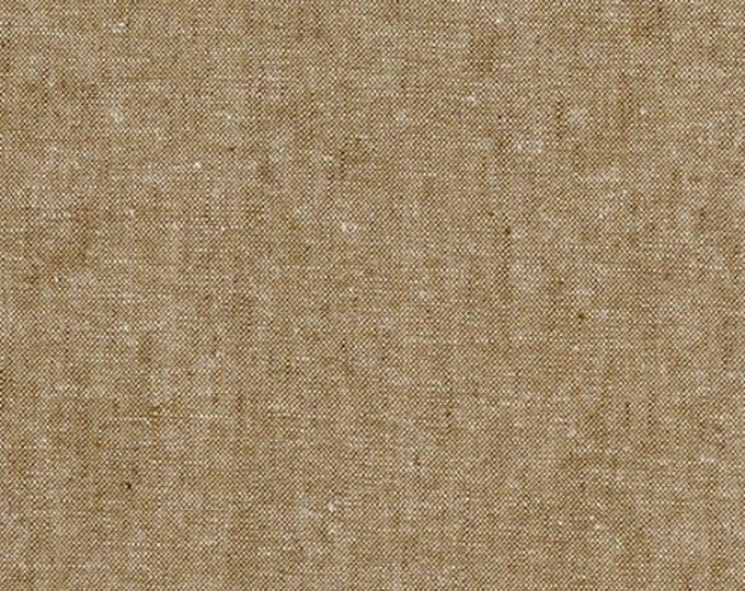 Robert Kaufman Yarn Dyed Essex - Taupe - Cotton Fabric