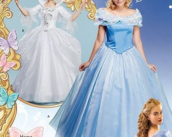 Cinderella Inspired Costume and Fairy Godmother Inspired Costume