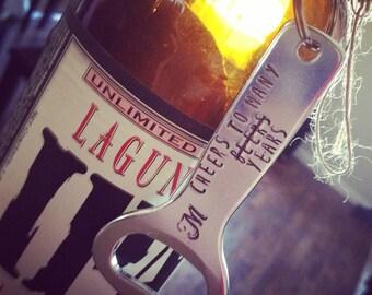 Bottle Opener, Gift for Groom, Groomsmen Gift, Personalized Beer Opener