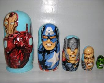 Avengers nesting doll