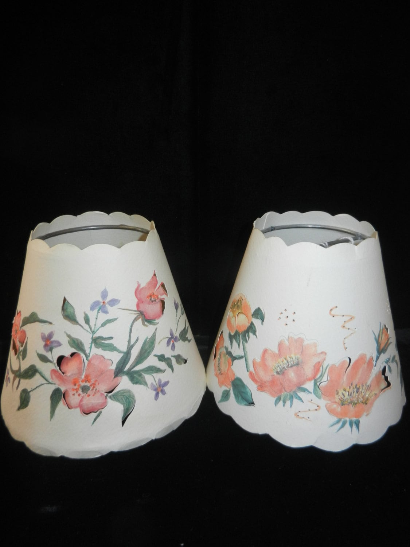 Decorative Mini Lamp Shades Clip On Candle Bulb Shades