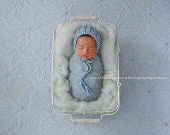 Newborn Bonnet Pattern, Pixie Bonnet Pattern, Knit Bonnet, Cable Bonnet, Kiwi
