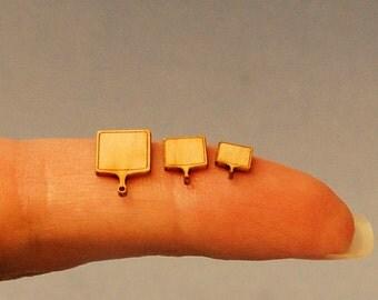 1/4 inch scale miniatures-Maple cutting board set