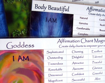 Create daily chants to empower you soul, Magnetic affirmations, Change how you think, Live in Gratitude, Intention kit, Highest good gift