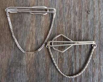 Swank Chain Tie Bars