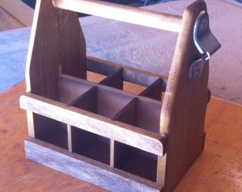 Six Pack Bottle Crate for Picnic or Party